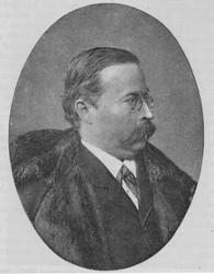 Ernst von Wildenbruch (Nach einer Fotografie der artistisch-photographischen Gesellschaft in Berlin)